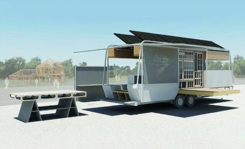 plan 3D- ApparatusX- Université Penn State - Pennsylvanie -USA