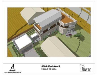 plan 3D - Unique Reclaimed Modern par Dwell Development LLC - Seattle, Usa
