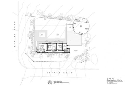 plan - Aloe Ridge House par Metropole Architects - Kwa Zulu Natal, Afrique du Sud