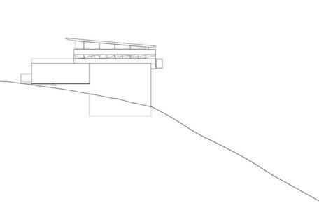 plan - Anthrazit House par Architects Magnus - Santa Barbara, Usa