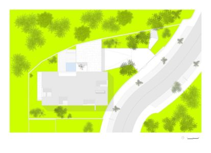 plan - BE House par Spaceworkers - Paredes, Espagne