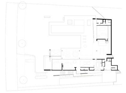 plan - Ft house par Reinach Mendon Arquitetos - Bragança Paulista, Brésil