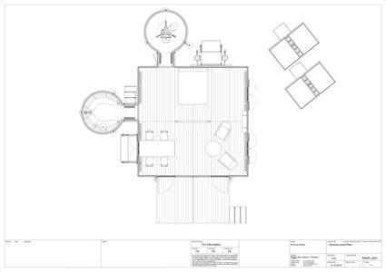 plan - Maison démontable Jean_Prouve_6x6 par RSHP