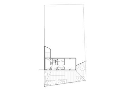 plan RDC - Maison R - Colboc Franzen & Associés - France