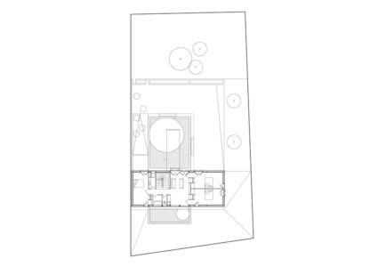 plan R+1 - Maison R - Colboc Franzen & Associés - France