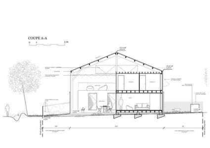 plan coupe - Maison D par Fouquet Architecture - Coueron, Loire-Atlantique, France.jpg