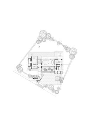plan de masse - 59BTP House par ONG&ONG - Singapour