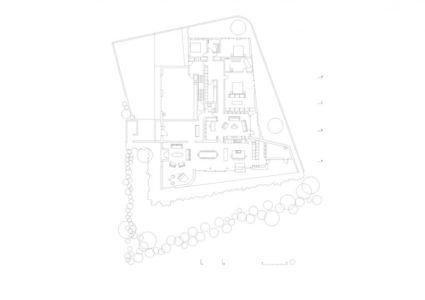 plan de masse - Bakkaflöt 14 par Studio Granda - Islande