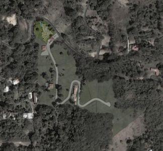 plan de masse - Casa Altamira par Joan Puigcorbé - Costa Rica