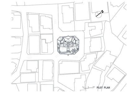 plan de masse - HWA HUN par IROJE KHM Architects - Pyeongchang-dong, Corée du Sud
