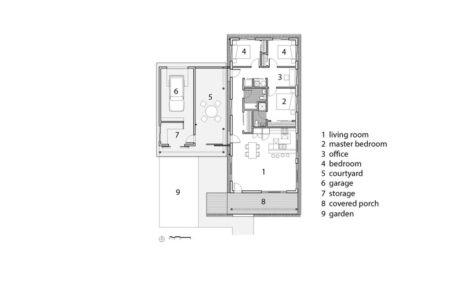 plan de masse - Heartland habitat for humanity par El Dorado - Kansas City, Usa