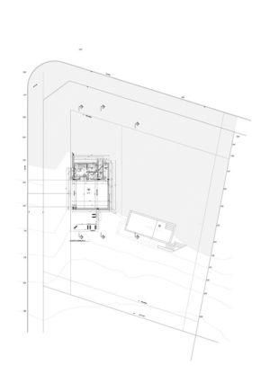 plan de masse - House in Q2 par Santiago Viale - Mendiolaza, Argentine