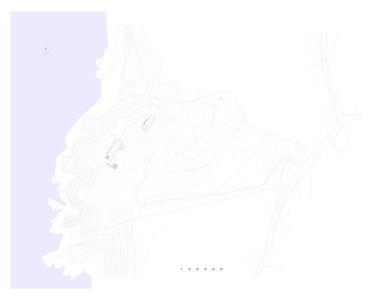 plan de masse - Notre Ntam' Lesvos Residences par Z-level à Agios - Fokas, Grèce
