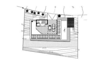 plan de masse - Prodromos and Desi Residence par VARDAstudio - Paphos, Chypre