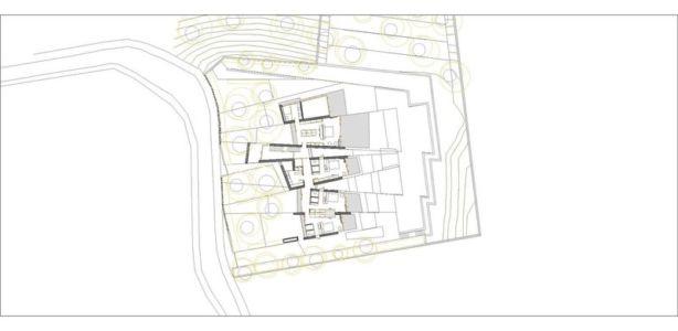 plan de masse - Sardinera House par Ramon Esteve Estudio - Valencian Community, Espagne