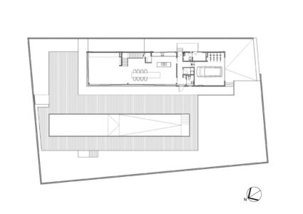 plan de masse - Swiss family house par Architectkidd - Bang Saray, Thaïlande