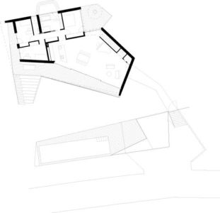 plan de masse - Villa P par Love Architecture - Graz, Autriche