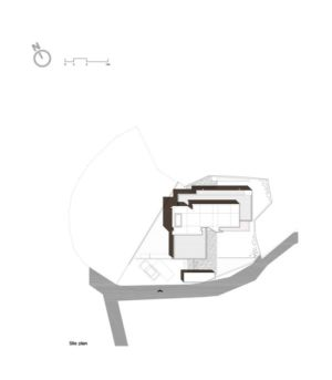 plan de masse - Woljam-ri House par JMY architects - Gyeongsangnam-do, Corée du Sud