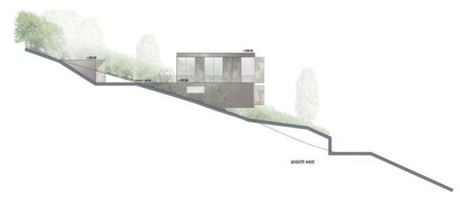 plan elevation 2 - House-GT par Archinauten - Linz, Autriche
