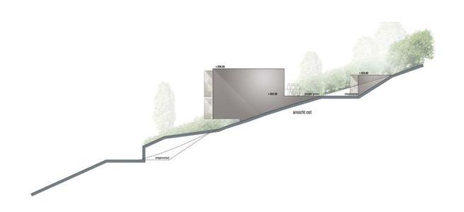 plan elevation 3 - House-GT par Archinauten - Linz, Autriche