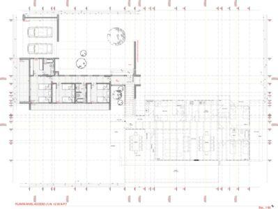plan masse - ED House par Eduardo Guzmán Rivera + Juan Carlos Muñoz Del Sante - Chili