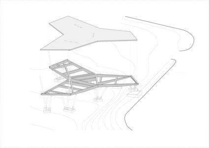 plan plancher - Maggie's Oxford  par Wilkinson Eyre Architects - Oxford, Royaume-Uni
