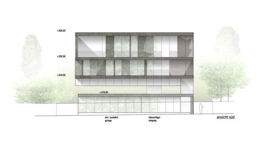 plan section - House-GT par Archinauten - Linz, Autriche