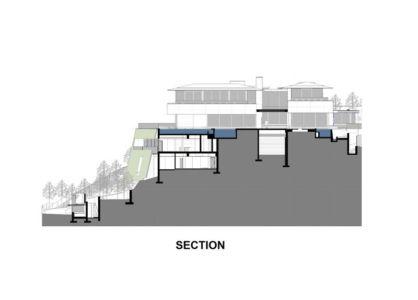 plan section - saota-le-cap par SAOTA - Cap, Afrique du Sud
