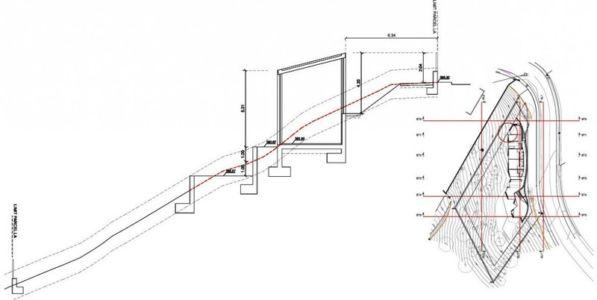 plan site 1 - maison exclusive par Mirag Arquitectura i GestiO - Ametlla, Espagne