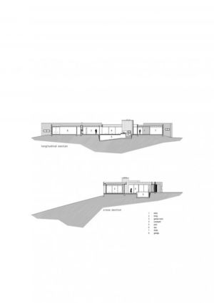 plan site 2D - Modern farmhouse par Pattersons - Muriwai, Nouvelle-Zélande