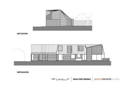 plan site 2D - harold-residence par Jackson Clements Burrows - Melbourne, Australie