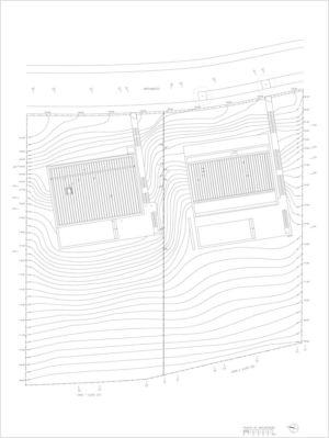 plan 1 - 2houses-de-moura par Eduardo Souto De Moura - Ponte de Lima, Portugal