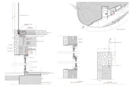 plan site - maison exclusive par Dosarquitectes - Girona, Espagne