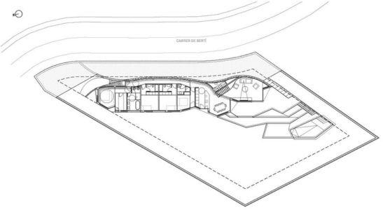 plan site3 - maison exclusive par Mirag Arquitectura i GestiO - Ametlla, Espagne