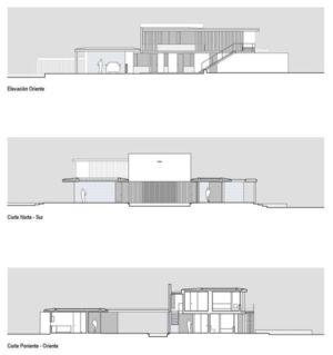plans - Kübler House par 57STUDIO - Stgo, Chili