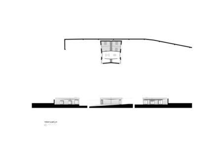 plans - Maison P(c)ap(l)ill(ss)on par Guillaume Ramillien architecture - Yzeure, France - Photo Eric Pouyet
