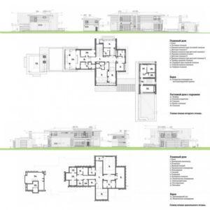 plans - S-House par Fourth Dimension - Moscou, Russie