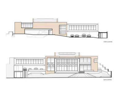 plans de masse - chinkara house par Soliscolomer y asociados - guatemala