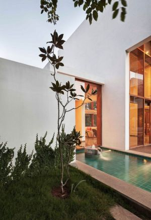 plante jardin - L-Plan-House Klosla Associates - Bangalore, Inde