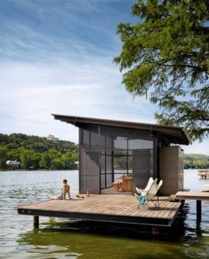 plounge près rivière - The Hog Pen Creek Residence par LakeFlato - Austin, Usa