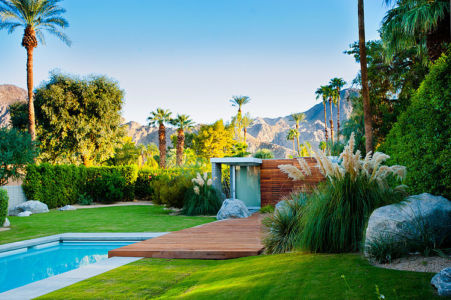 pool house - F-5 Residence par Studio AR+D Architects - Indian Wells, Usa