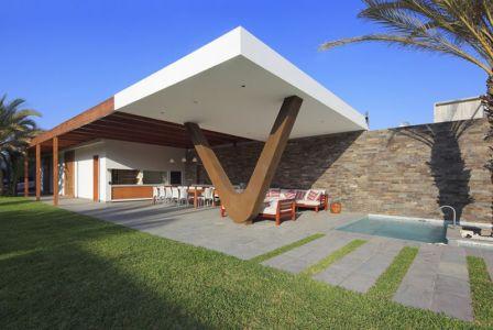 pool house - Maison Mar-de-Luz par Oscar Gonzalez Moix - Pérou