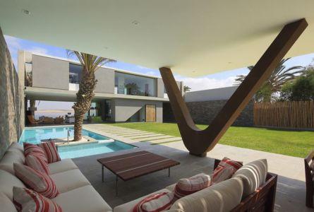 pool house piscine - Maison Mar-de-Luz par Oscar Gonzalez Moix - Pérou
