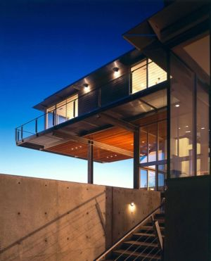 porte à faux - Eaton Residence par E. Cobb Architects - Seattle, Usa - Photo Paul Warchol