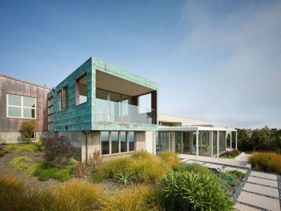 porte à faux - In-Out par Wnuk Spurlock Architecture - Stinson Beach, Californie, USA