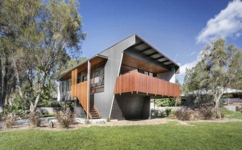 porte à faux - Northern Rivers Beach House par Refresh Architecture - South Golden Beach, Australie
