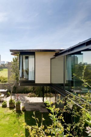 porte à faux jardin - Garden house par VGZ Architecture - Mexico, Mexique