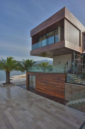porte à faux terrasse - Touristic Villa 'S, M, L' par studio SYNTHESIS - Tivat, Montenegro
