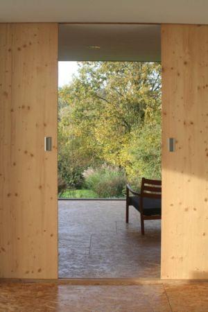 porte coulissante - Maison dans la prairie par Arba - Montreuil, France