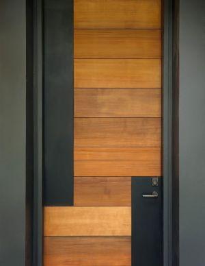 porte entrée - Bray's Island SC Modern II par SBCH Architects - Sheldon, Usa